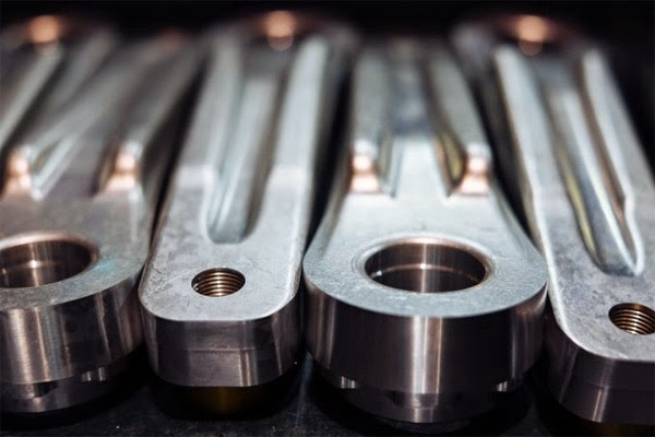 Hope Cranks 7000 series alloy forgings