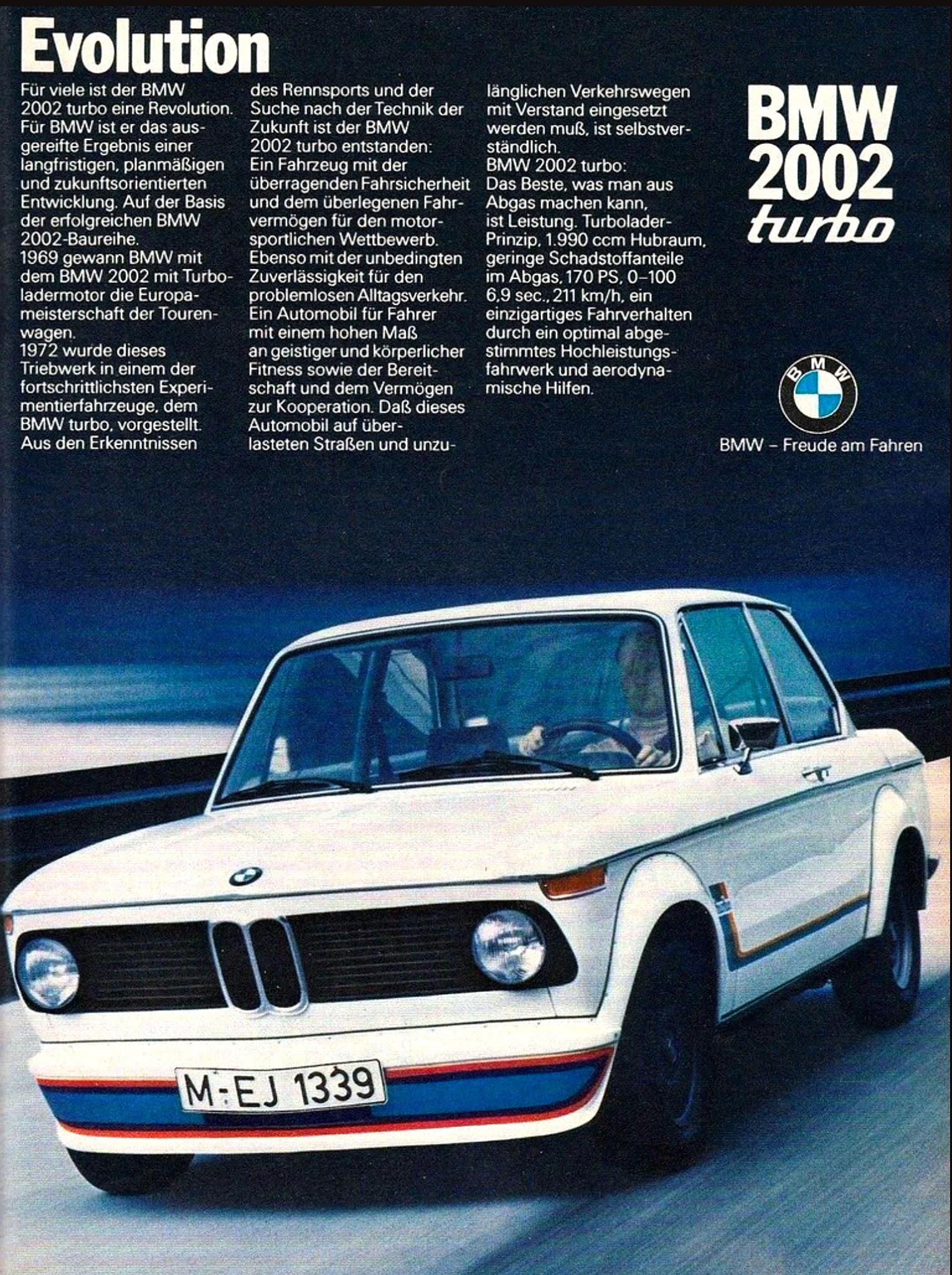 Jake\'s Car World: 1972 BMW 2002 Turbo