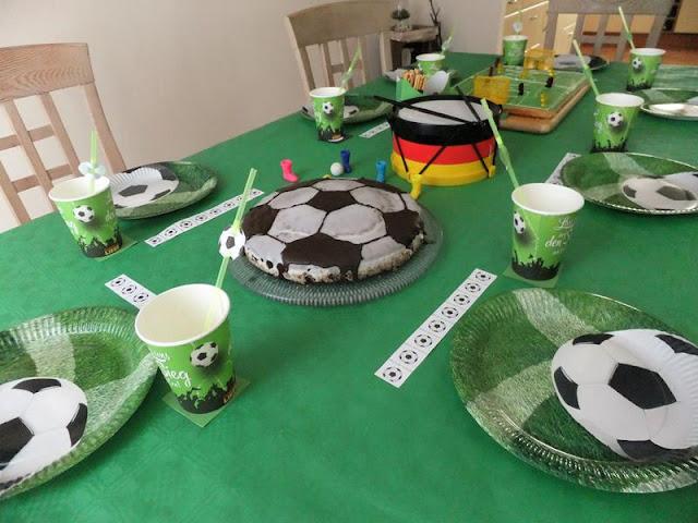 Tischdeko Mottogeburtstag Fußball
