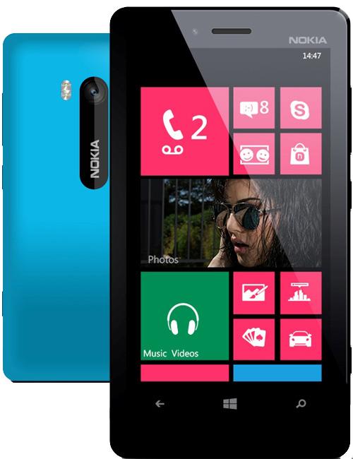 Nokia Lumia 810 Pictures