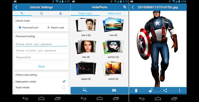 Aplikasi HidePhoto Android