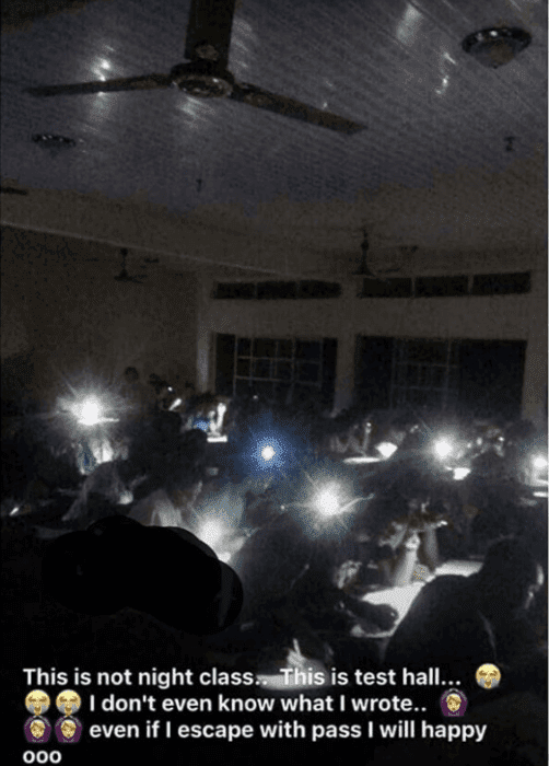 Oko Polytechnic Students Compelled to Write Test at night