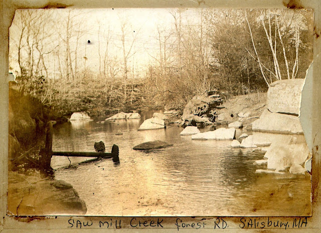 Saw Mill Creek, Salisbury, Massachusetts, tidal mill