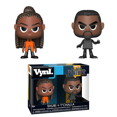 Black Panther Movie Vynl 2 Pack by Funko – T'Challa & Shuri