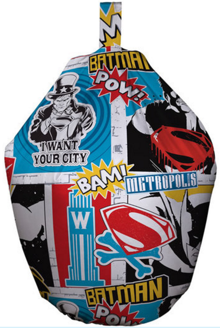 Batman v Superman Child's Bean Bag