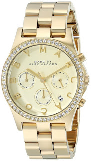 Marc by Marc Jacobs MBM-3105 Gold-Tone Watch for only $122 (reg $275)
