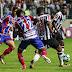 Atlético domina a partida, mas o Bahia, de Jean e Juninho, vence no Horto