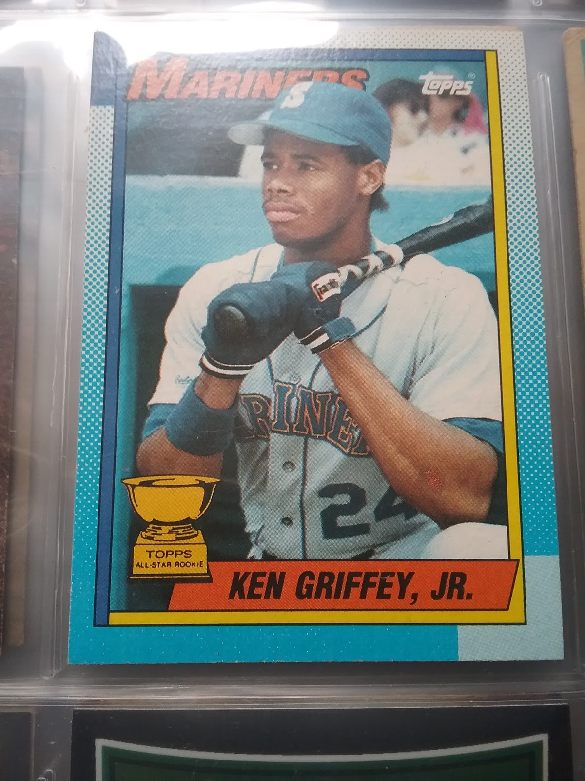489f1682f6 This is my favorite Griffey, Jr. baseball card...it's much better than the  1989 Upper Deck card that is the darling of the hobby....maybe it's because  the ...