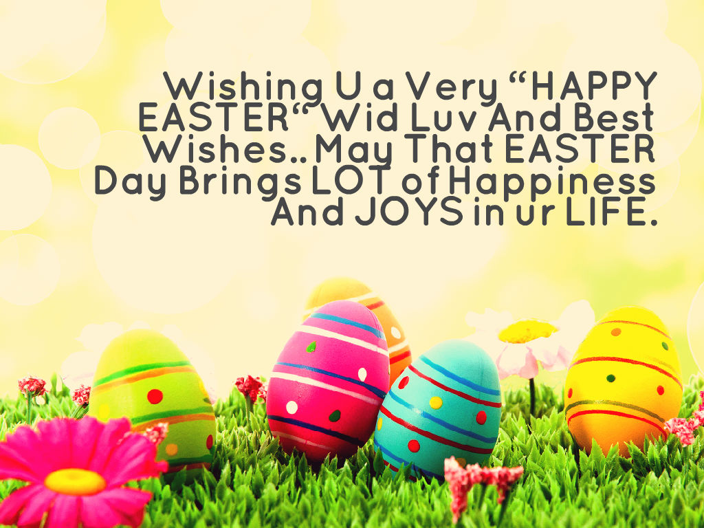 Happy Easter Messages 2021