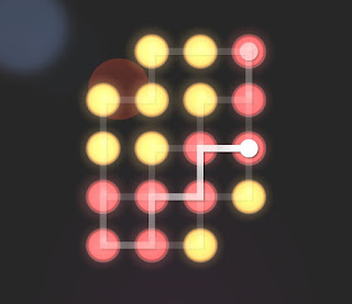 Solution, Cheats, Walkthrough for Neon Hack [Neon Dots] Level 37