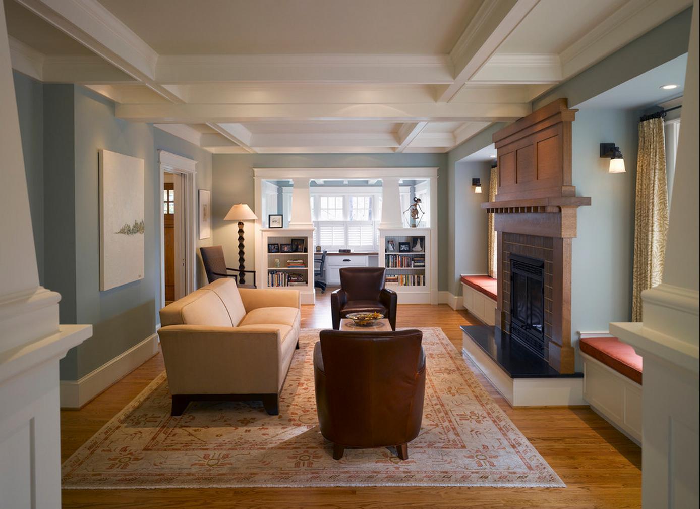 Delorme Designs: CRAFTSMAN STYLE HOME & WYTHE BLUE HC-143