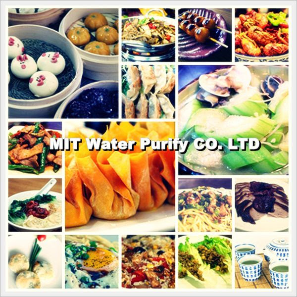 The Traditional Chinese Lunar New Year's Eve Dinner with many kind of delicious Chinese meals -by MIT Water Purify Professional Team Company Limited