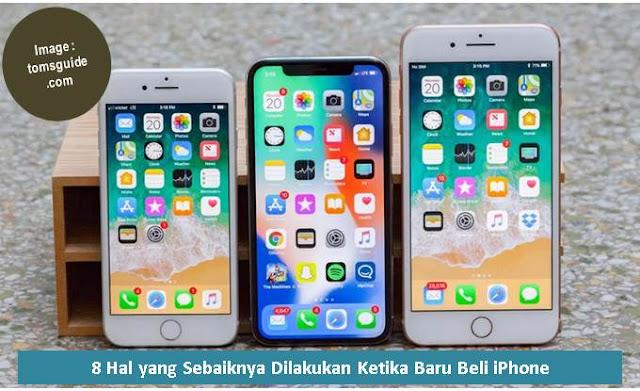 8 Hal yang Sebaiknya Dilakukan Ketika Baru Beli iPhone - Blog Mas Hendra