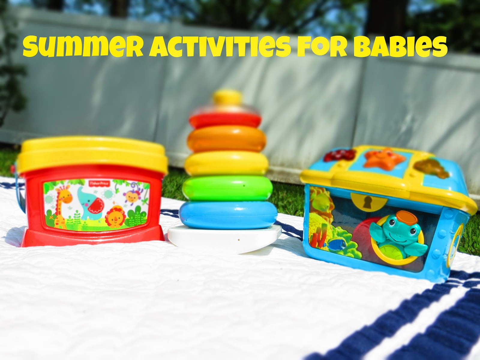 Summer Activities For Babies