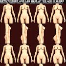 BBWVR2 Body Size Reference
