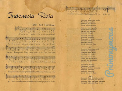 Lirik Lagu Indonesia Raya 3 Stanza (3 Bait)