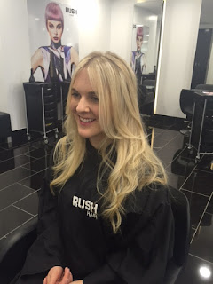 Review, RUSH Hair Salon In Ipswich