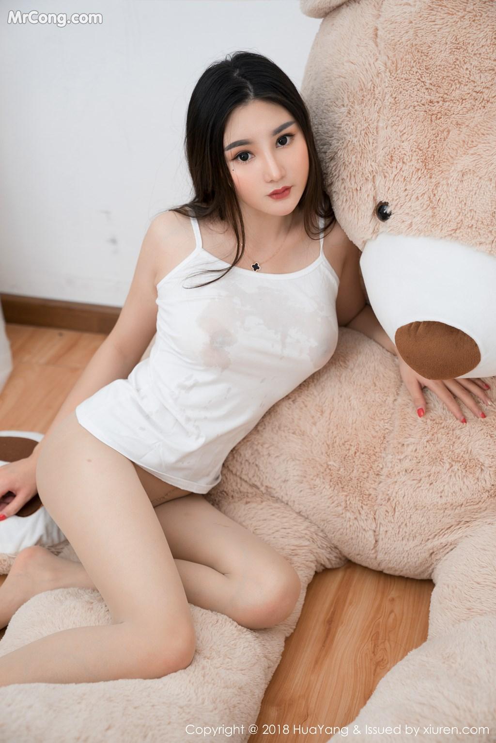Image HuaYang-2018-03-02-Vol.034-Xiao-Tian-Xin-Candy-MrCong.com-032 in post HuaYang 2018-03-02 Vol.034: Người mẫu Xiao Tian Xin (小甜心Candy) (41 ảnh)