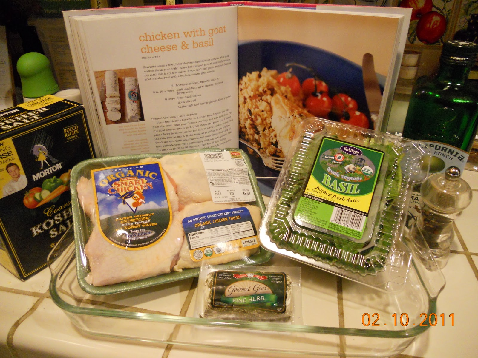 Drey S Palate Teasers Barefoot Contessa S Chicken W Goat Cheese Amp Basil