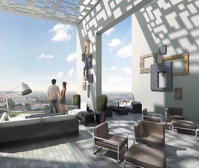 Sky Vue Bishan - Sky Lounge