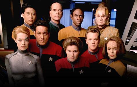 Resultado de imagem para Jornada nas Estrelas: Voyager