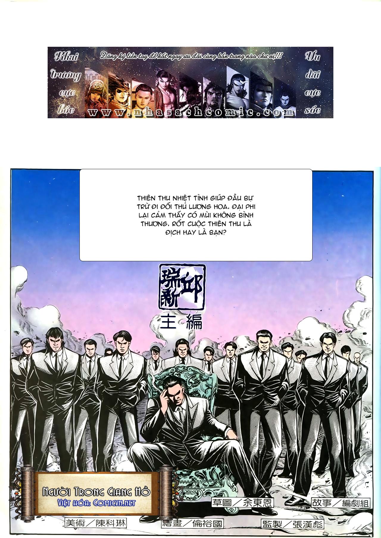 Người Trong Giang Hồ chapter 193: mưu kế đầy bụng trang 2