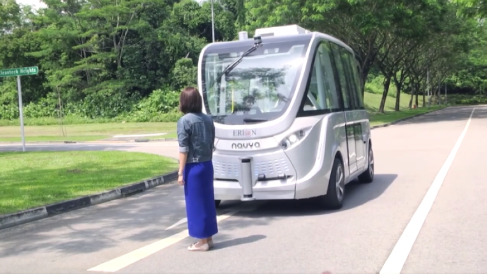 Developed by ST Engineering as part of a collaboration with the Ministry of Transport (MOT) and Sentosa Development Corporation, the shuttles use technology such as radar and lidar (light detection and ranging) to navigate without human input.