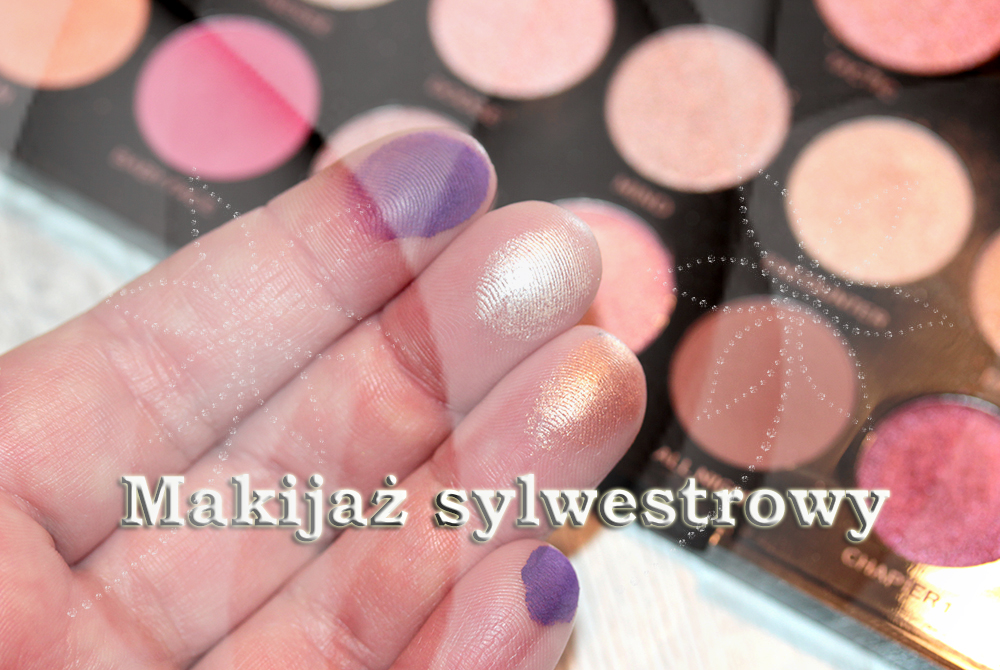 Marzena Makeupbeauty Makijaż Sylwestrowy Szybki I łatwy Do Wykonania