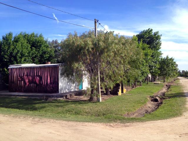 Street Art By Franco Fasoli Aka JAZ For The Vatelon Residency In Villa Soriano, Uruguay. 2