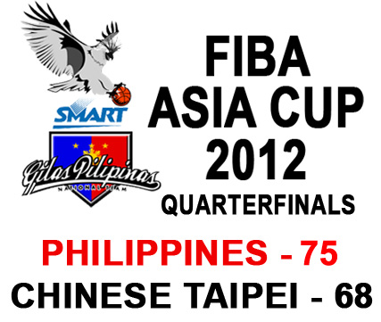 Smart-Gilas Philippines Wins over Chinese Taipei in Quarterfinals