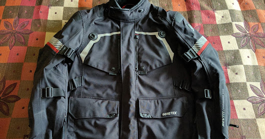 Rev'It Poseidon GTX Jacket and Pants after 36,000KM