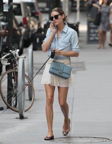 What To Wear In The Special Day Olivia Palermo S Several