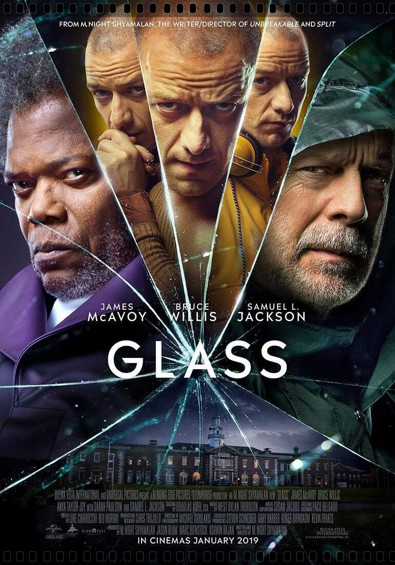 Vidro (Glass) Torrent 2019 HD 720p Dublado Download