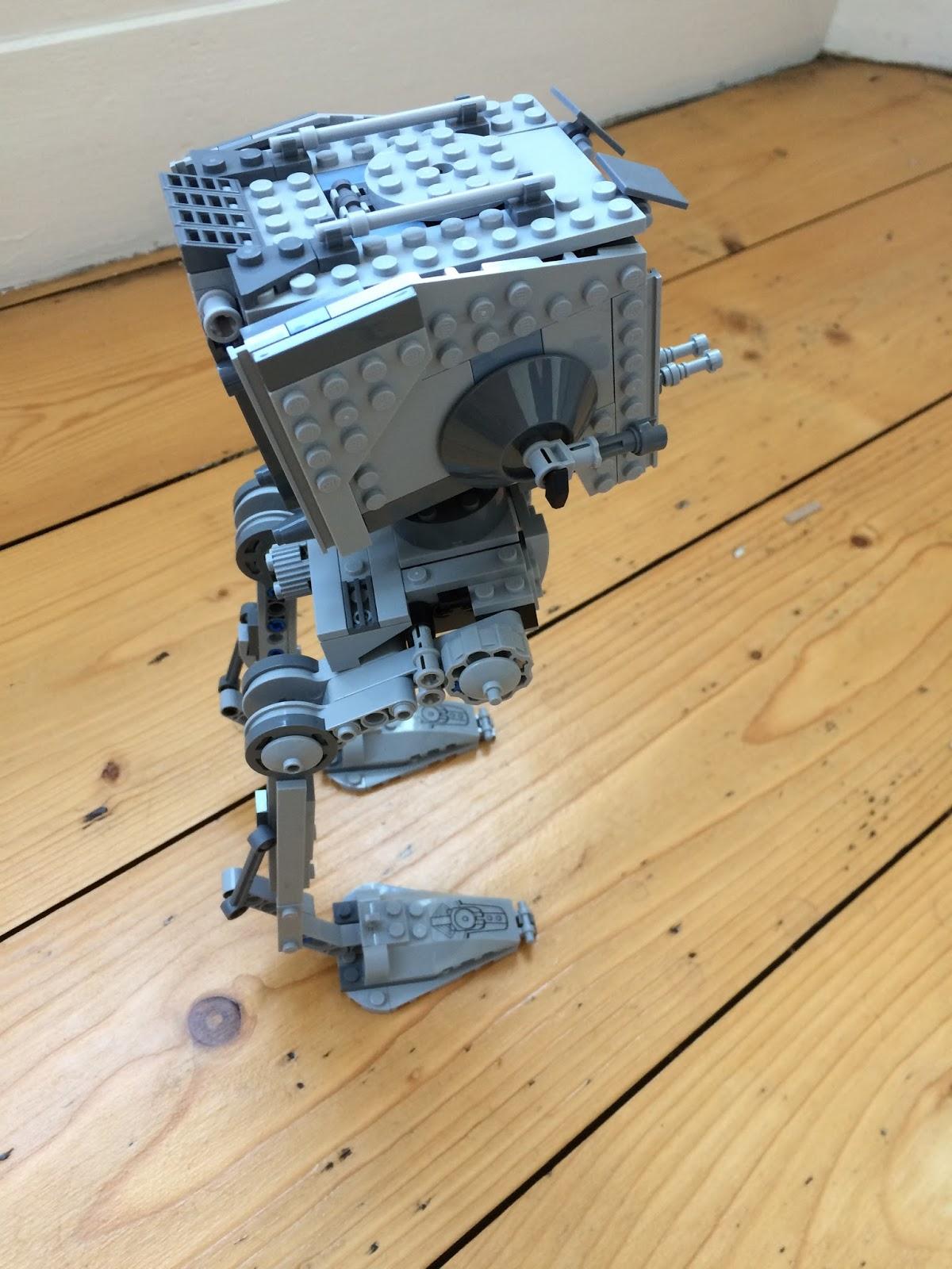 Lego Star Wars R1 AT-ST Walker 75153 Building Set side view