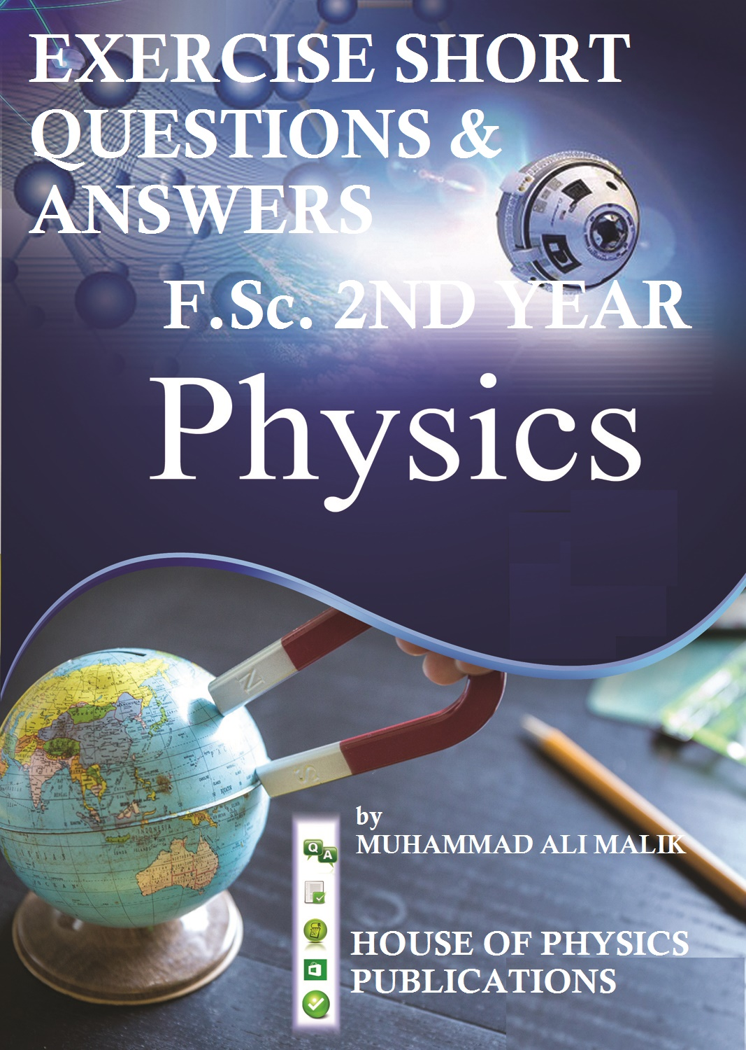 Exercise Short Questions, F Sc  Physics (2ND Year), FREE