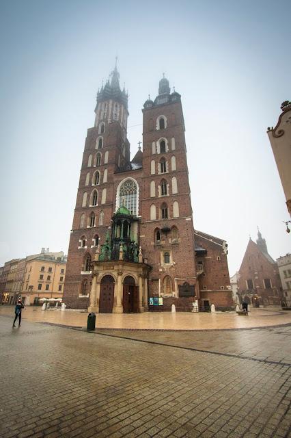 Chiesa Santa Maria-Rynek Glowny-Cracovia