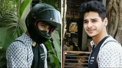 Ishaan Khatter fined to Traffic Police for parking bike in no parking zone