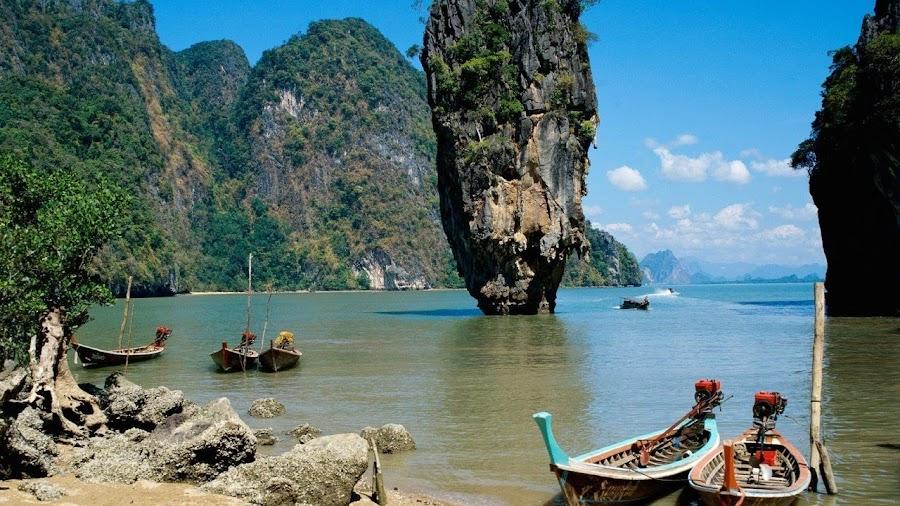 Increíbles paisajes en Tailandia