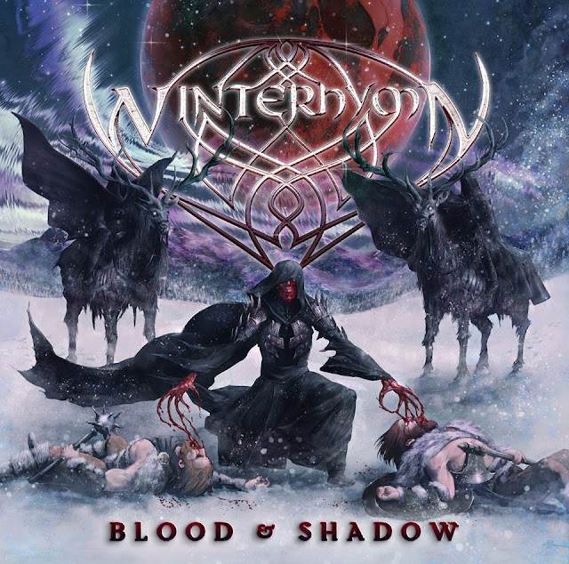 Winterhymn - Blood & Shadow (Album Lyrics), Winterhymn - Blood of the Moon Lyrics, Winterhymn - Dream of Might Lyrics, Winterhymn - Blood Burner Lyrics, Winterhymn - Legacy in Flames Lyrics, Winterhymn - The Summoning Lyrics,  Winterhymn - Seafarer Lyrics, Winterhymn - Silenced by the Northern Winds Lyrics, Winterhymn - In Shadow We Ride Lyrics, Winterhymn - Huntsman Lyrics, Winterhymn - The Wolf's Head Lyrics, Winterhymn - Into the Depths Lyrics, Winterhymn - The Chosen End Lyrics