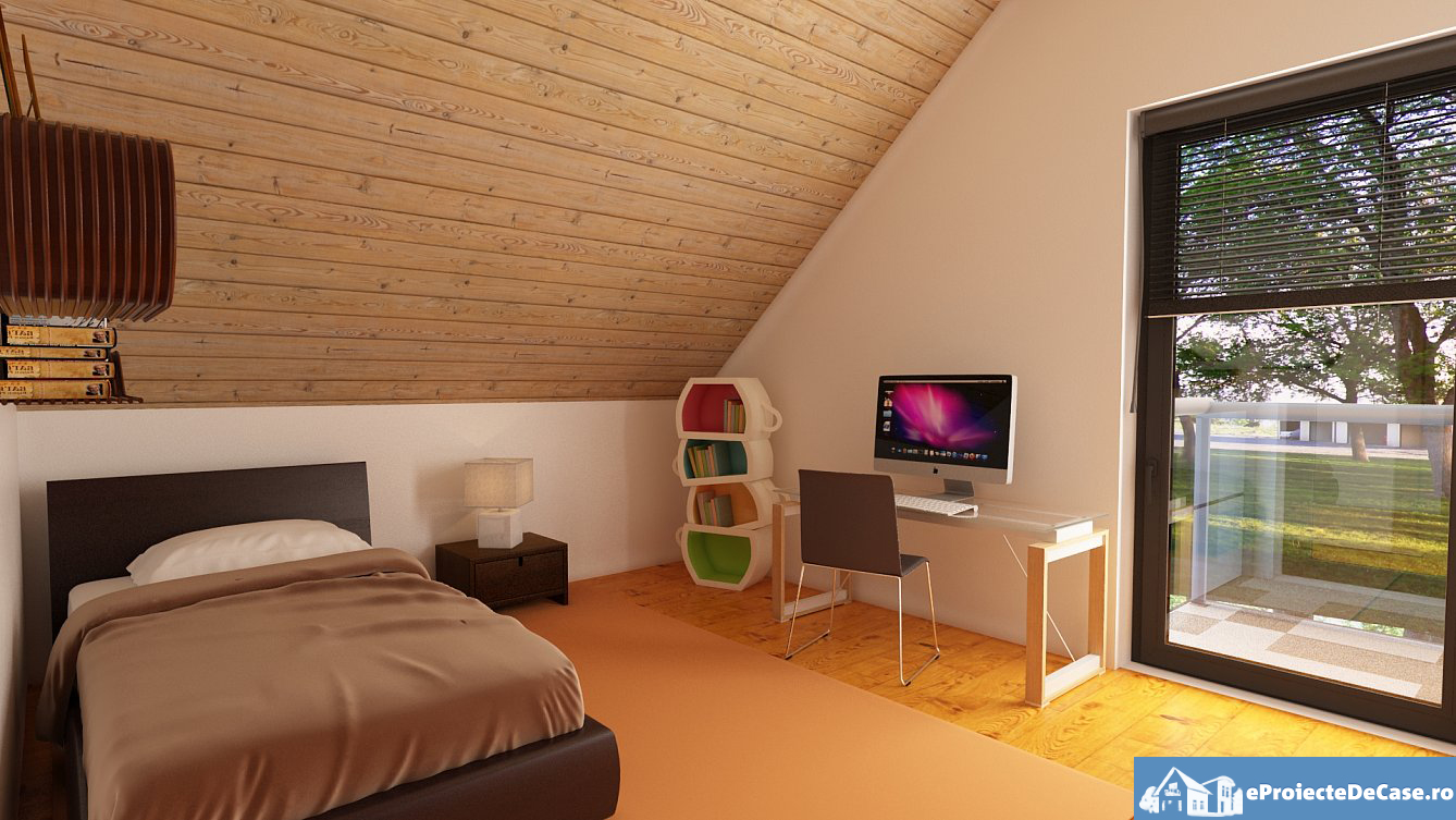 House plan with attic space usually looks down on floors under from an open area.  They are considerable spaces for home offices, children's play areas, computer table, or even a guest room if you want. Take a look at some of these house plans for a small house with an attic.