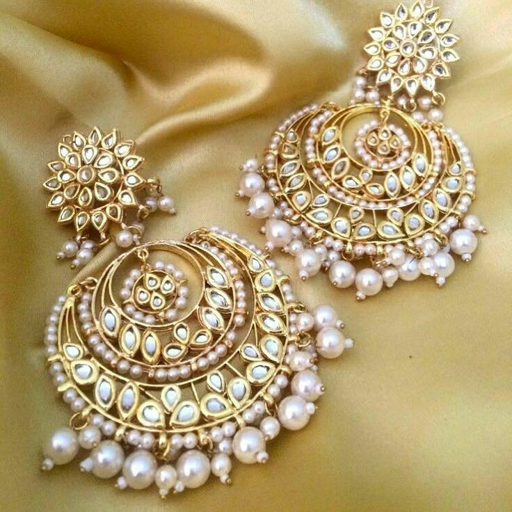 8 Gorgeous Chand Bali Earring Style For Weddings