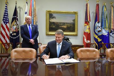 Románia, Egyesült Államok, Klaus Iohannis, Donald Trump, Patriot-rakéta, fegyverkezés, hadügy
