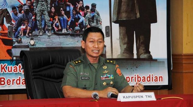 Isu Panglima TNI Ceramah Maulid Nabi di Petamburan Hoax