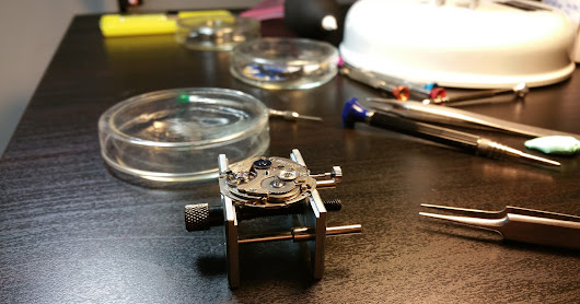 Watchmaking - A beginning