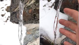 Εντυπωσιακή οφθαλμαπάτη με νερό