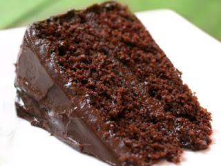 Bolo de chocolate húmido