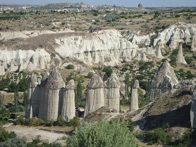 Chaminés das Fadas na Capadócia, Turquia