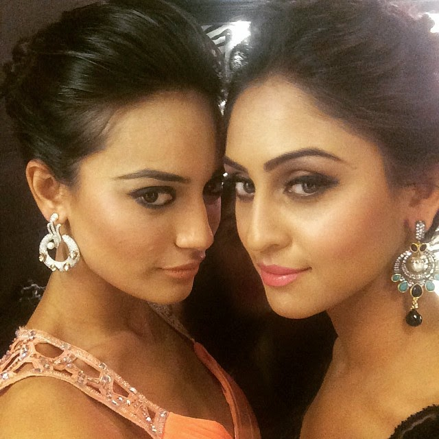 @krystledsouza, Surbhi Jyoti Hot Pics from Parties, Selfie Images with Krystal Dsouza, Nia Sharma