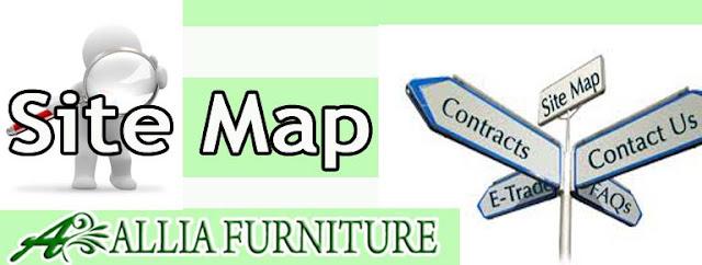 Sitemap atau peta situs Daftar Isi Allia Furniture