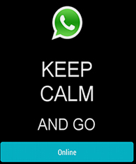 come risultare sempre online su whatsapp